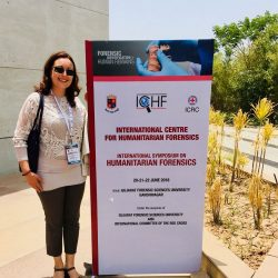 Schweizer Forensic Nurse an  Kongress in Indien
